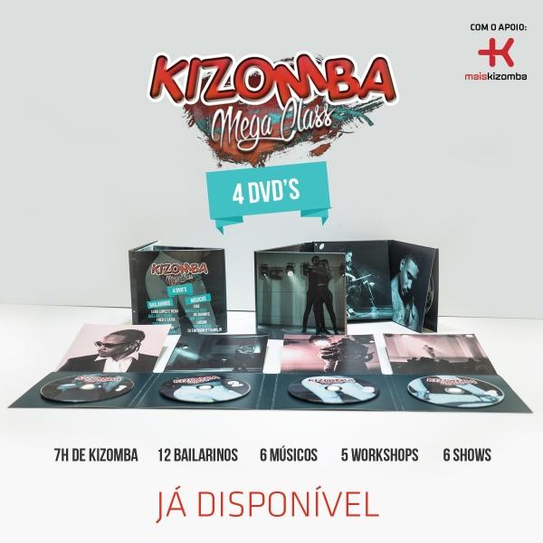 DVD Kizomba Mega Class